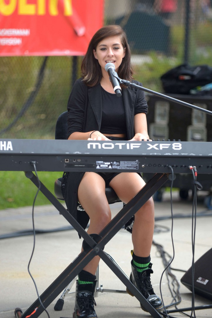 Christina Grimmie - Performing at the East Hills Park