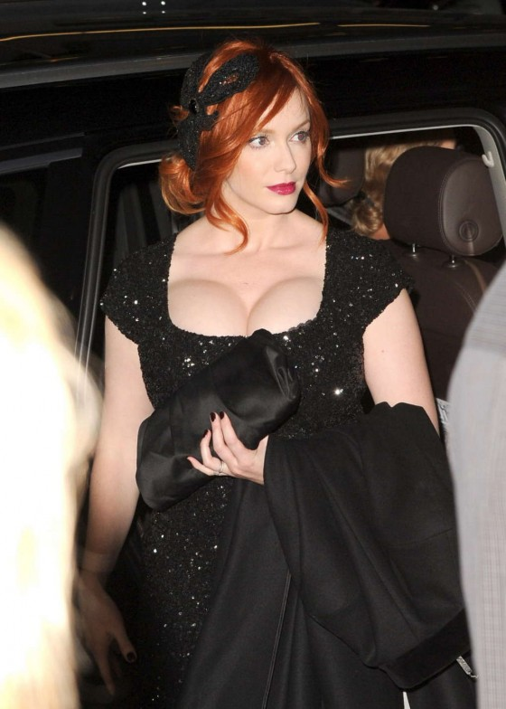Christina Hendricks - 2012 AFI fest in Hollywood - Ginger & Rosa screening