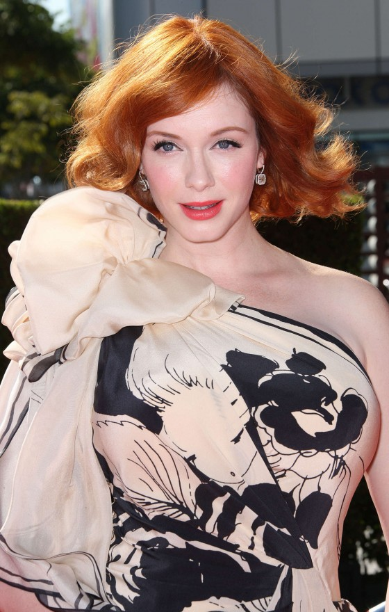 Christina Hendricks at Creative Arts Emmy Awards 2012