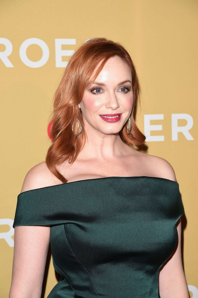 Christina Hendricks - 2014 CNN Heroes An All Star Tribute in NY