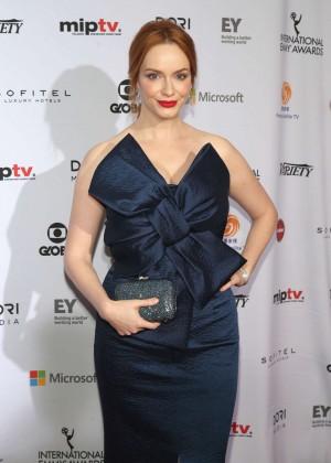 Christina Hendricks - 2014 International Academy Of Television Arts & Sciences Emmy Awards in NYC