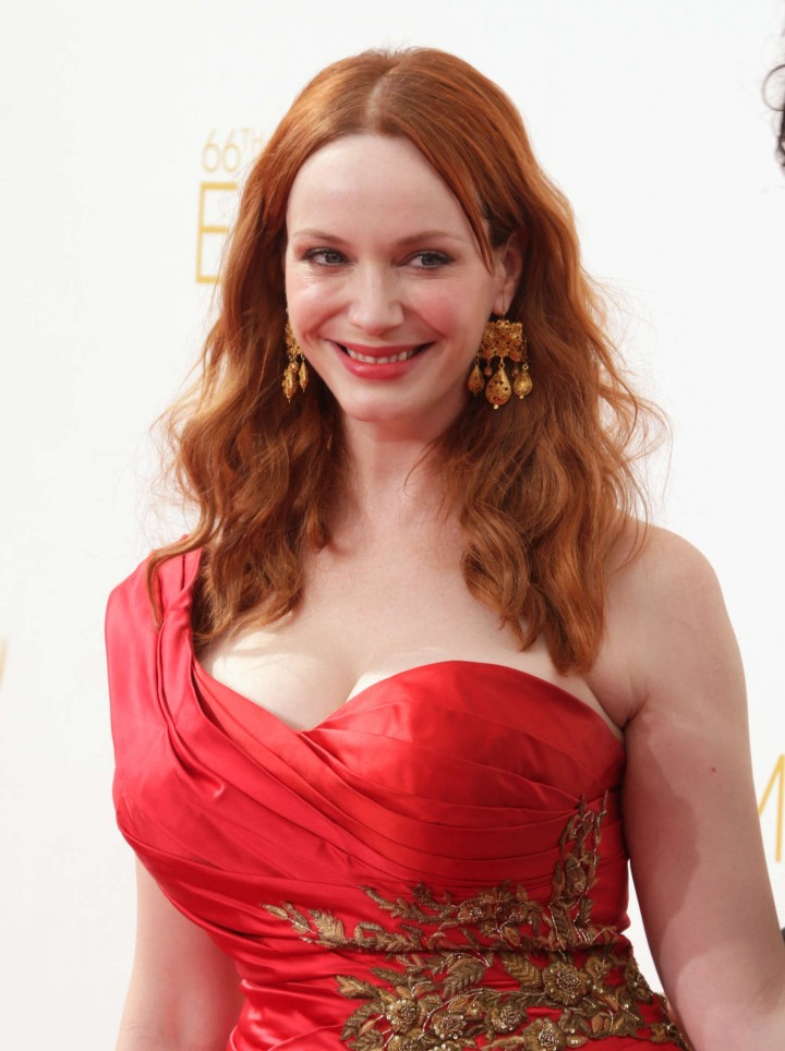 Christina Hendricks - 66th annual Primetime Emmy Awards in LA