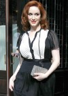 Christina Hendricks Cleavage-11