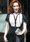 Christina Hendricks Cleavage-13
