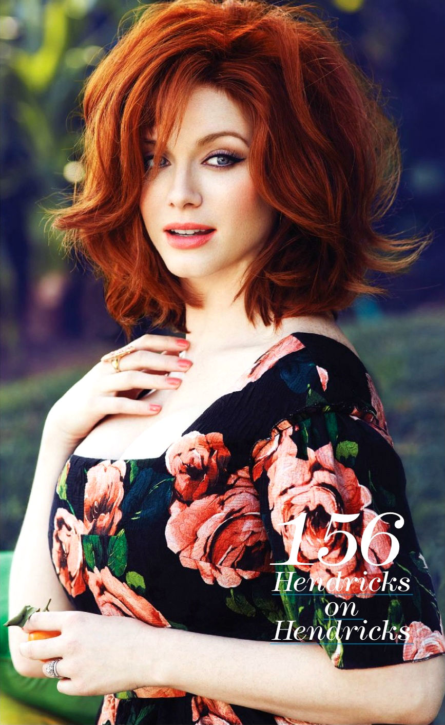 Christina Hendricks In Flare Magazine 2013 04 Gotceleb
