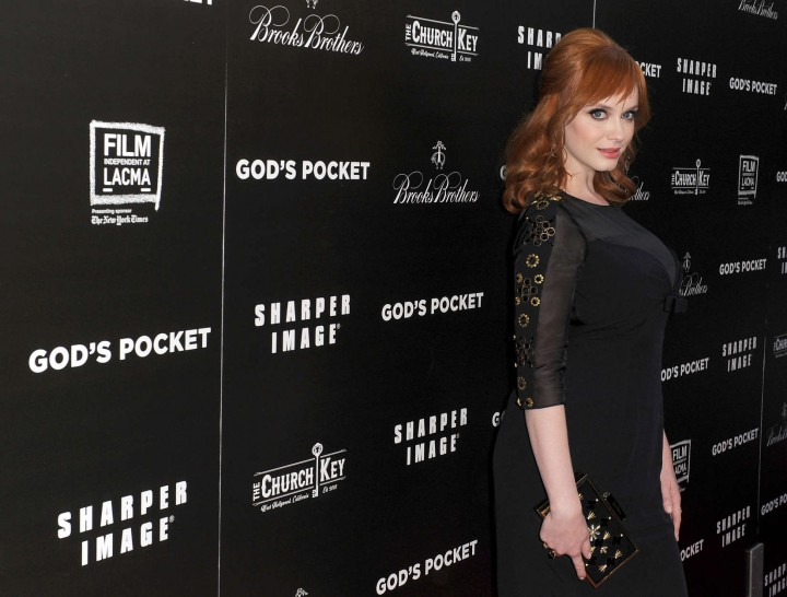 Christina Hendricks: Gods Pocket Premiere -03