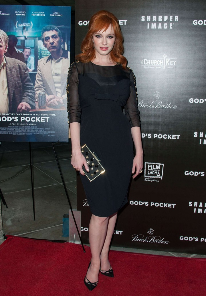 Christina Hendricks: Gods Pocket Premiere -04