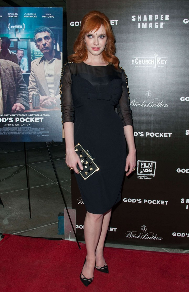 Christina Hendricks: Gods Pocket Premiere -05