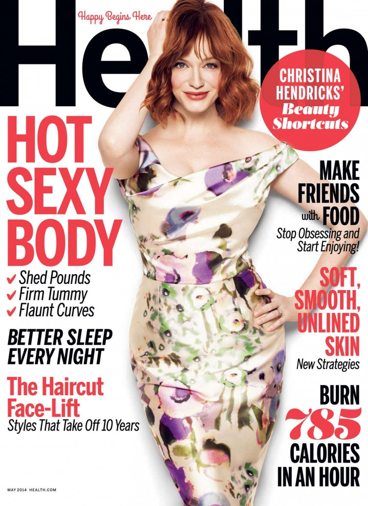 Christina Hendricks: Health Magazine 2014 -01