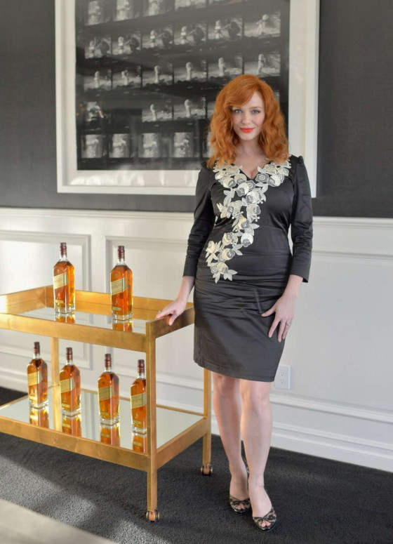 Christina Hendricks - Johnnie Walker Tasting in Beverly Hills