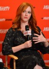 Christina Hendricks & Katharine Mcphee at 212 Variety Emmy Studio in West Hollywood