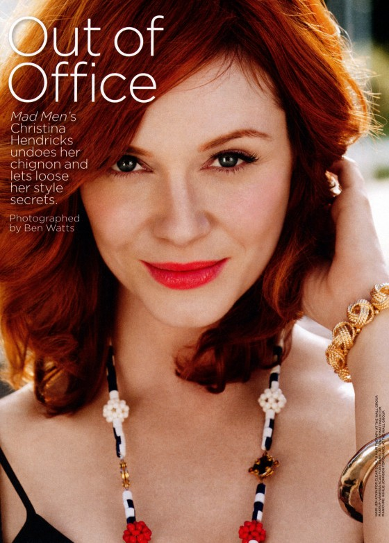 Christina Hendricks – Lucky US Magazine -04