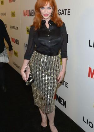 Christina Hendricks: Mad Men Season 7 Premiere -01