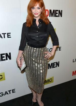 Christina Hendricks: Mad Men Season 7 Premiere -02