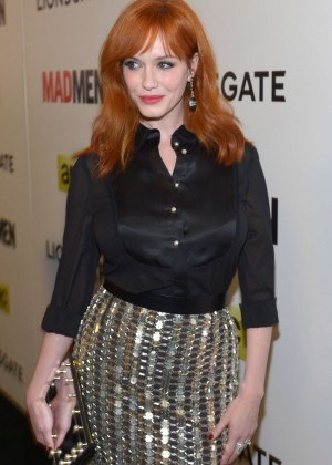 Christina Hendricks: Mad Men Season 7 Premiere -08