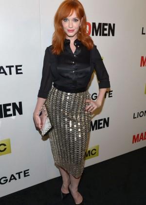 Christina Hendricks: Mad Men Season 7 Premiere -09