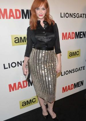Christina Hendricks: Mad Men Season 7 Premiere -11