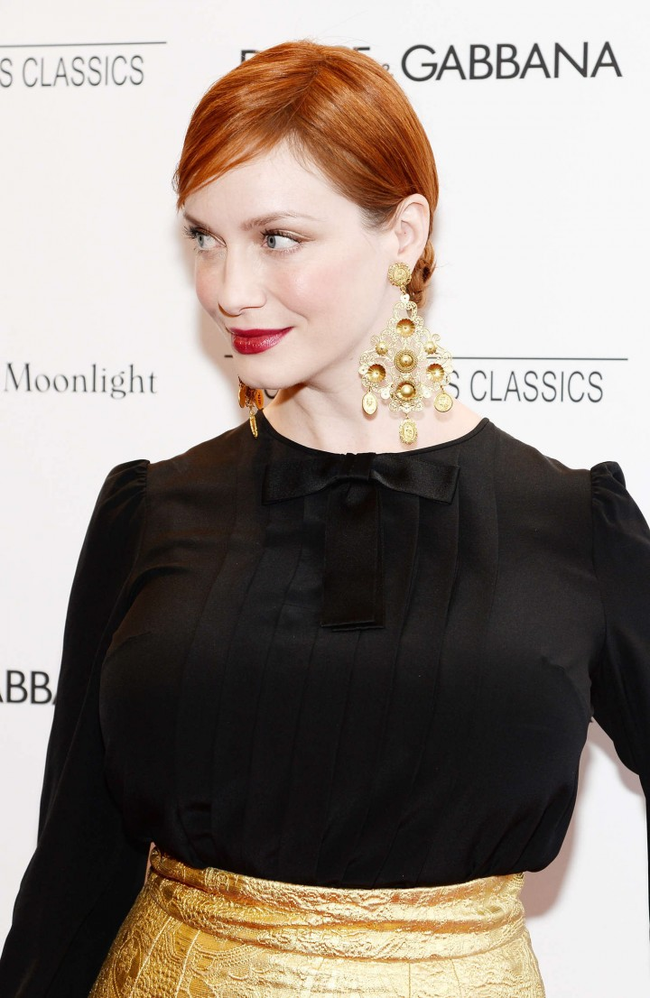 Christina Hendricks: Magic In The Moonlight NY Premiere -01
