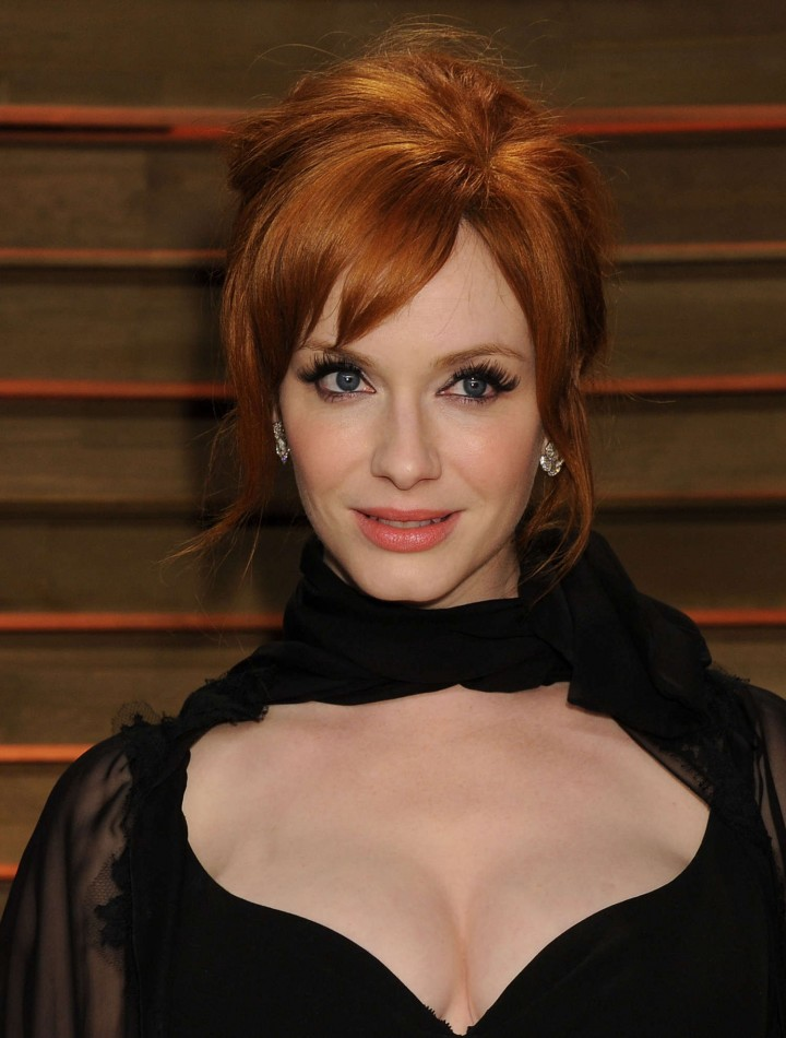Christina Hendricks: Oscar 2014 - Vanity Fair Party -02