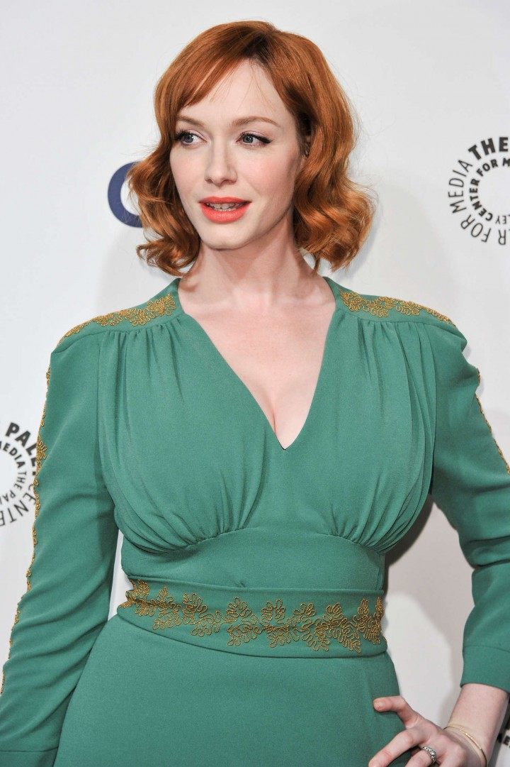 Christina Hendricks: PaleyFest 2014 Mad Men -01