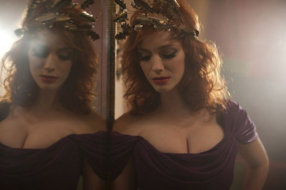 Mad Men babe Christina Hendricks is the new face of the Palladium jewelry