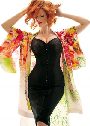 Christina Hendricks: Rhapsody 2014 -08