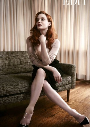 Christina Hendricks: The Edit Magazine -02