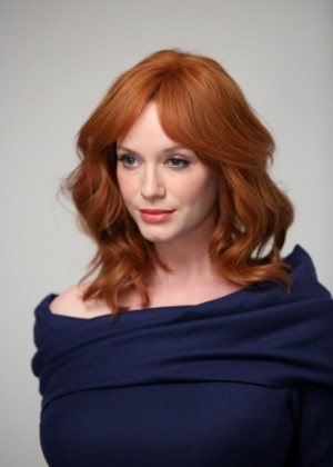 Christina Hendricks - Variety Studio panel 2014 -11