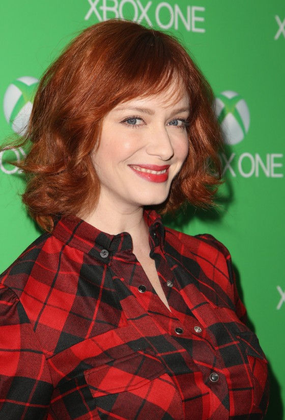 Christina Hendricks: Xbox One LA Launch Party -05