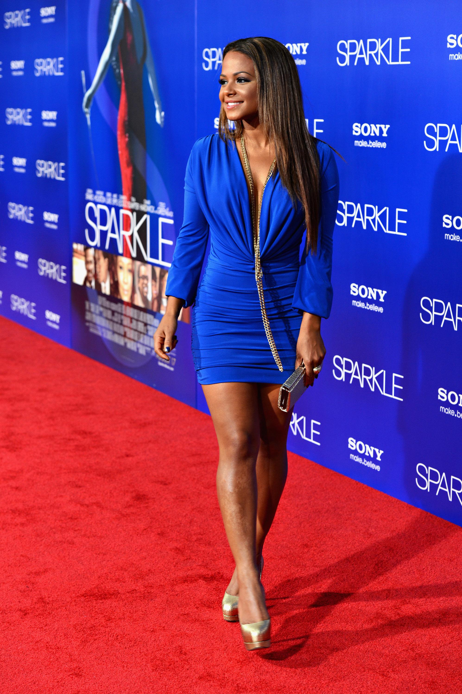 Mini Las Vegas >> Christina Milian hot in mini dress-01   GotCeleb