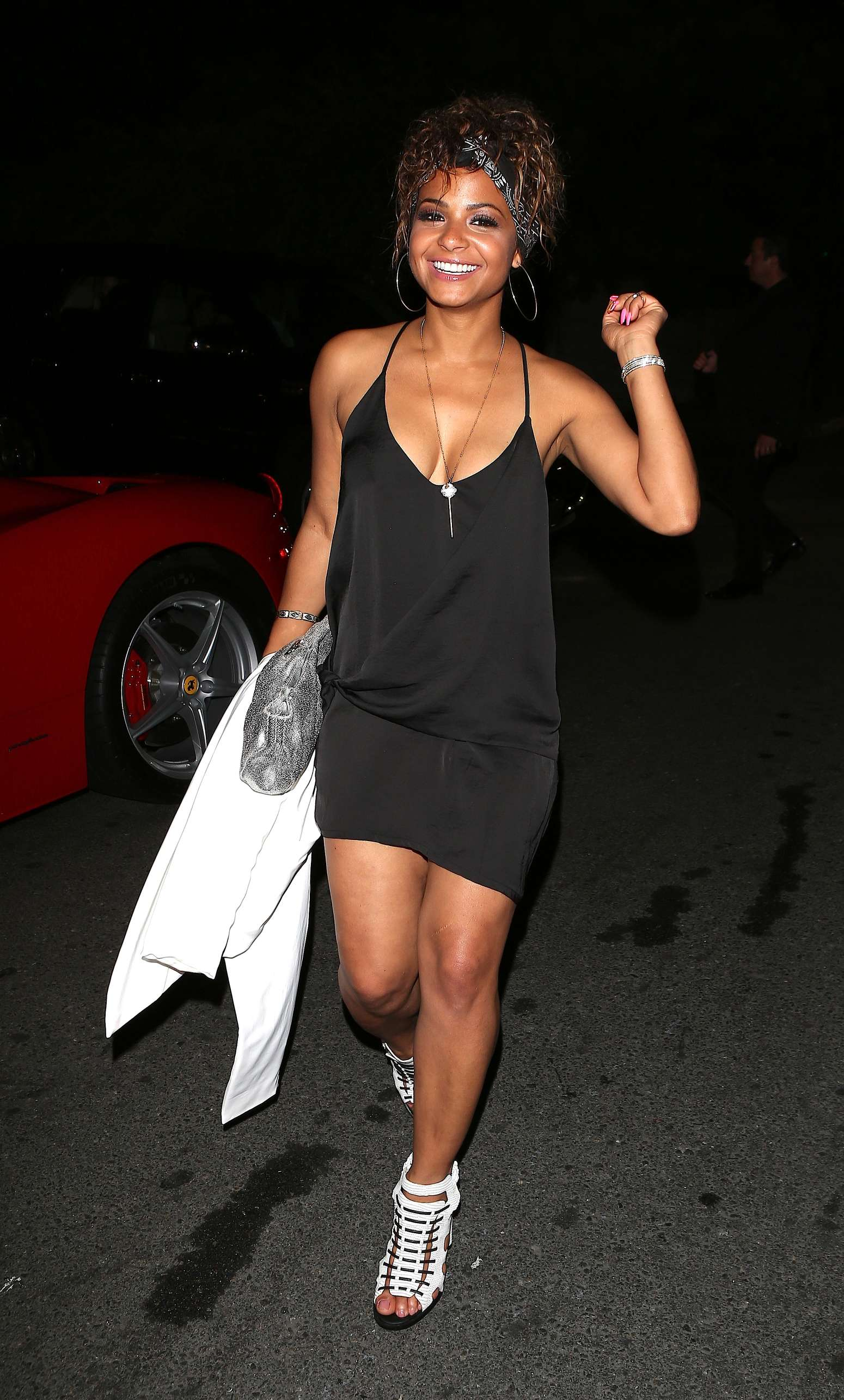 Christina Milian hot in dress -12 – GotCeleb