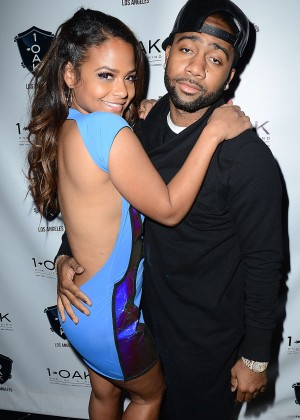 Christina Milian in Tight Dress at the 1 Oak Nightclub-03