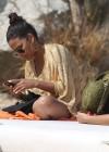 Christina Milian - Bikini Candids in Cabo San Lucas -17