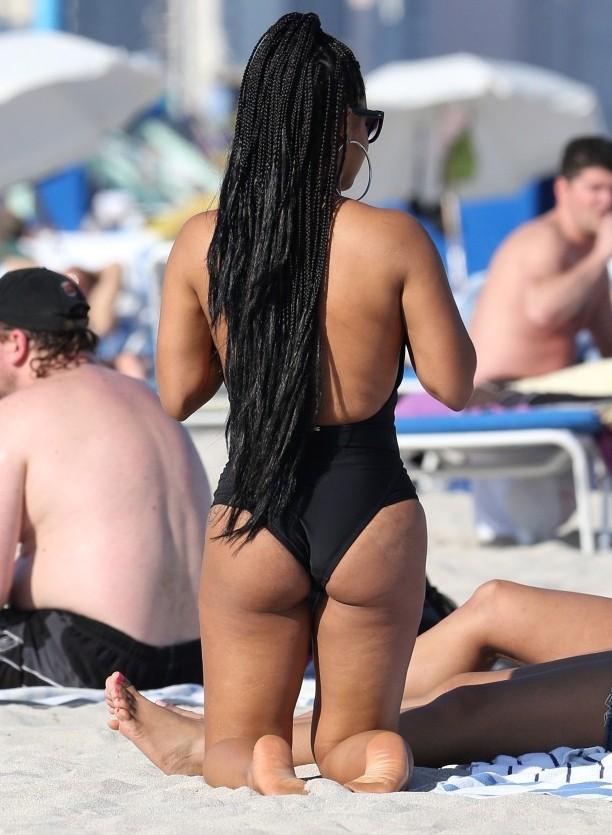 Christina Milian Bikini Photos: Miami Beach
