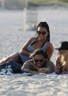Christina Milian In Black Swimsuit -34