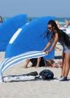 Christina Milian In Black Swimsuit -41