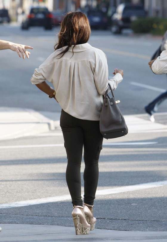 Christina Milian – Black Bra Candids in Beverly Hills-01
