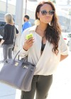 Christina Milian - Black Bra Candids in Beverly Hills-02