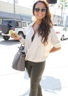 Christina Milian - Black Bra Candids in Beverly Hills-07