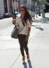 Christina Milian - Black Bra Candids in Beverly Hills-08