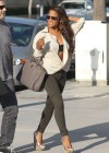 Christina Milian - Black Bra Candids in Beverly Hills-10