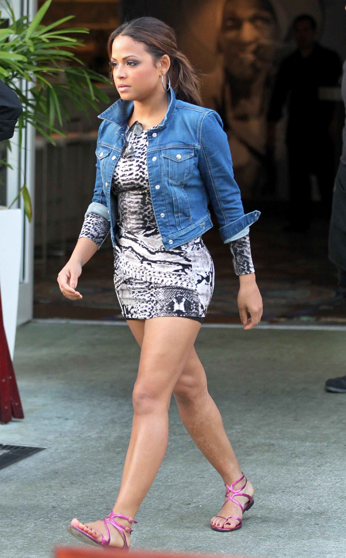 Christina Milian at Yuca Restaurant in Miami Beach-03 ...