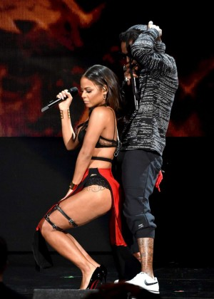 Christina Milian - Performs at 2014 American Music Awards in LA