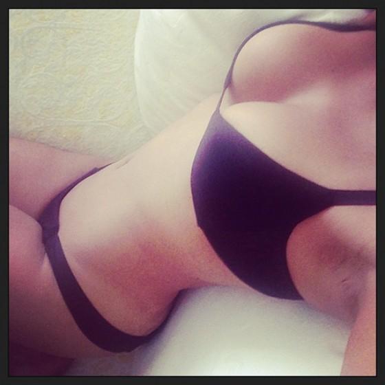 Christina Milian – wearing a bikini twitt pics -04