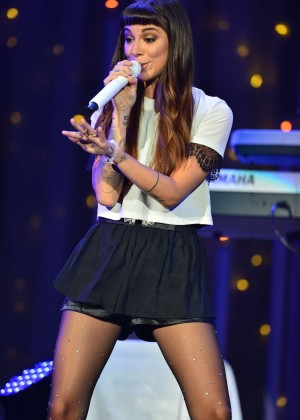 Christina Perri - Performs Live at Demi World Tour in Miami