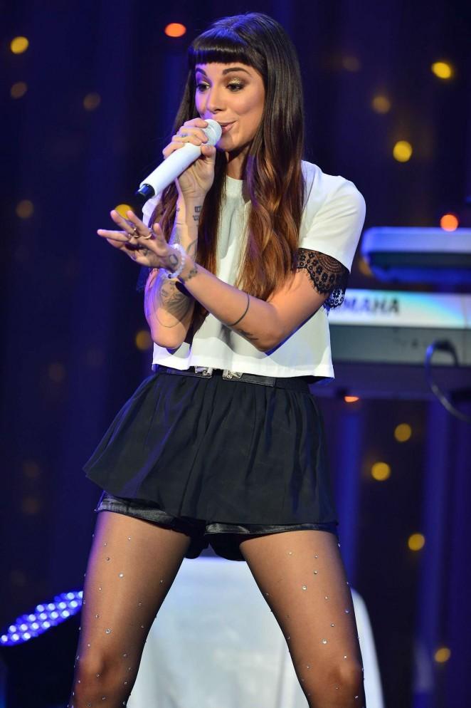 Christina Perri - Performs Live at Demi World Tour in Miami