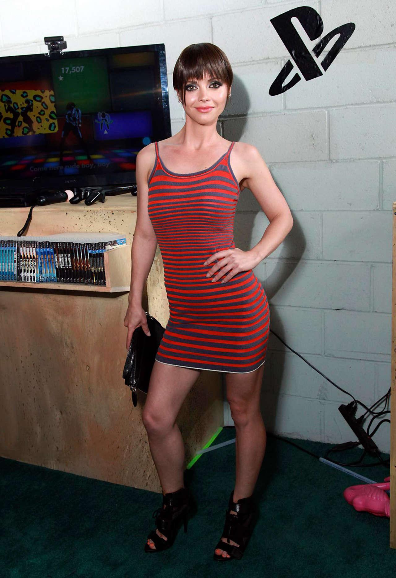 Christina Ricci Playstation 03 Gotceleb