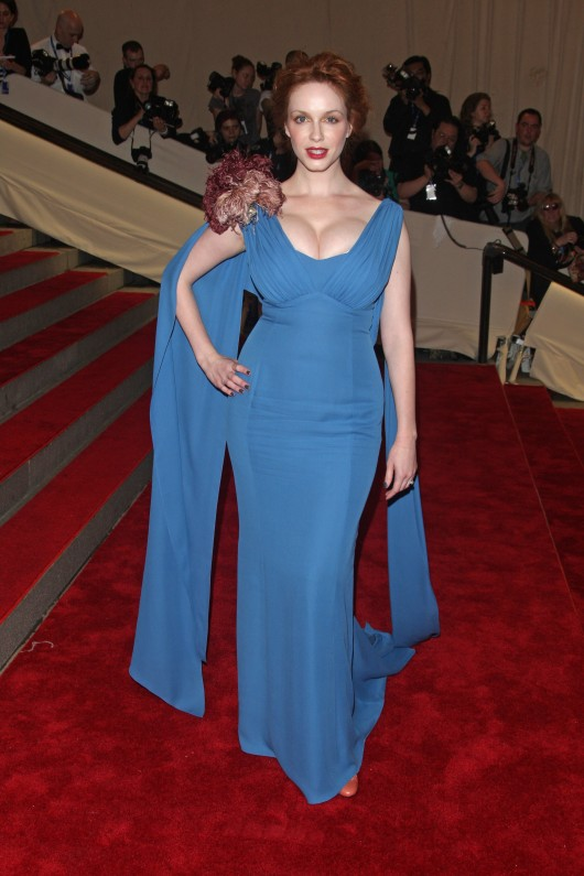 Christine Hendricks – 2010 Costume Institute Gala in NYC [adds]