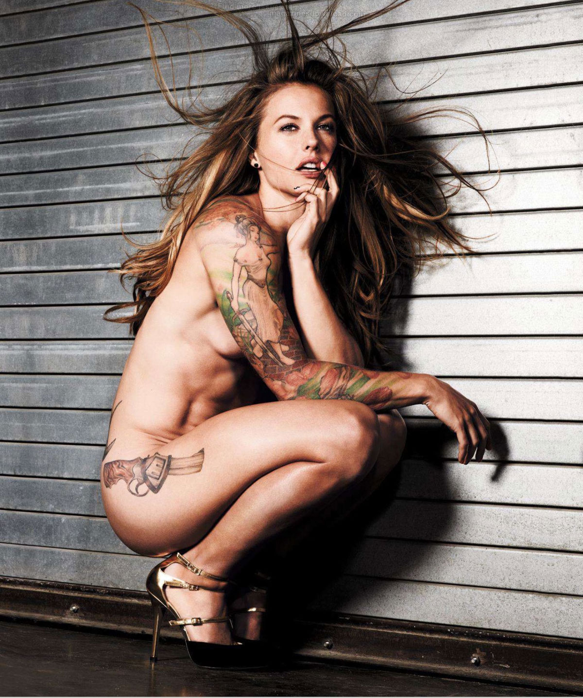 Who knew women rugby players can be hot for Nude women tattoo
