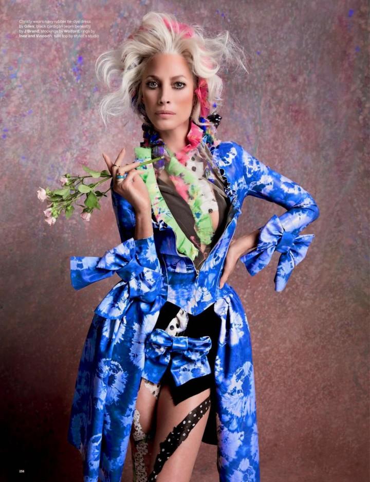 Christy Turlington - Love Magazine (Fall 2014)